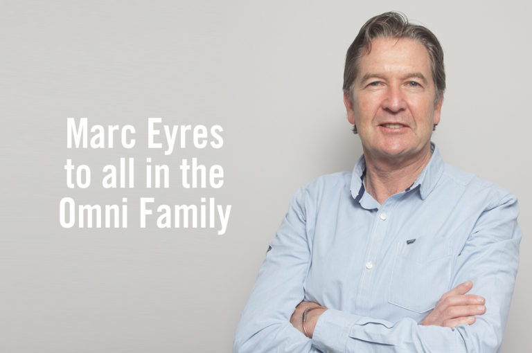 Marc Eyres to all in the Omni Family